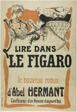 Poster for Le Figaro