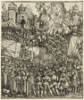 The Expulsion of the Hungarians from Lower Austria, from The Triumphal Arch of Maximilian I