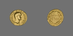 Aureus (Coin) Portraying Emperor Galba