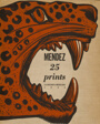 Portfolio Cover for Méndez: 25 Prints