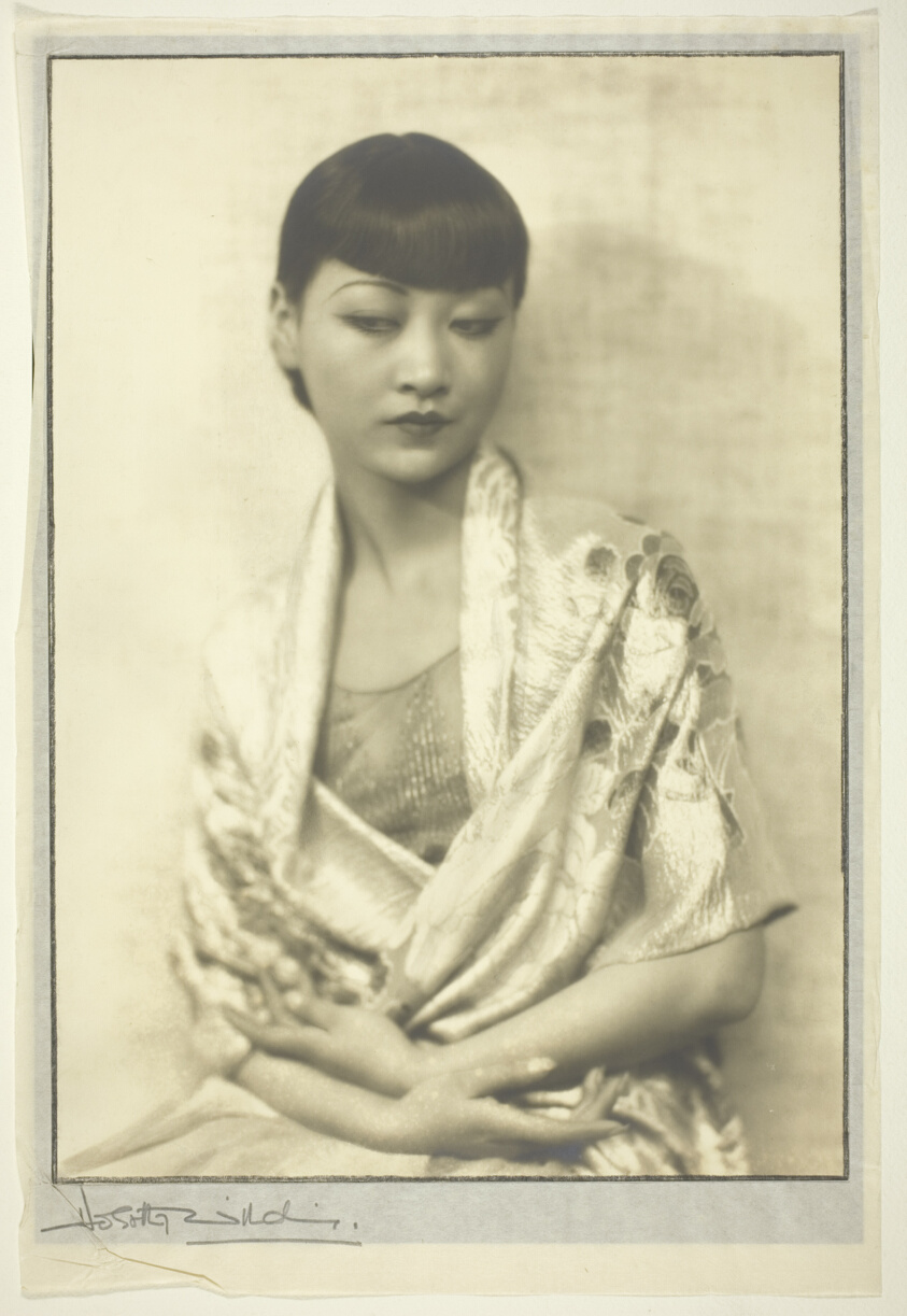 Image: portrait of Anna May Wong by Dorothy Wilding, ca. 1930.