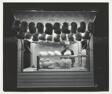 Cotton candy stand, International Amphitheatre, Chicago