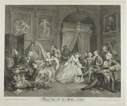 Plate Four, from Marriage à la Mode