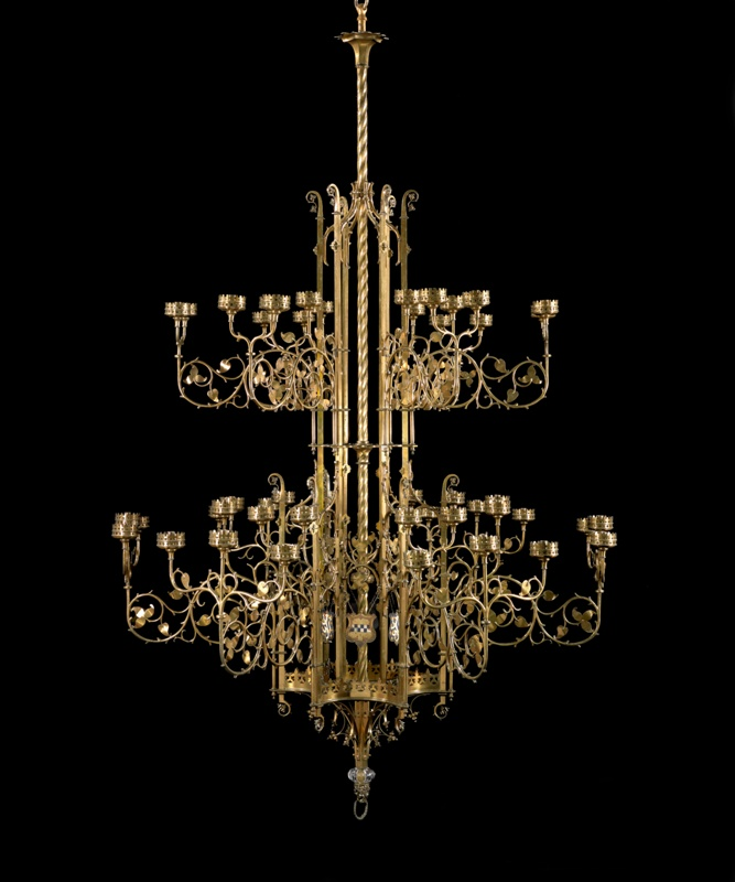 Chandelier the art institute of chicago chandelier aloadofball Image collections