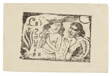Two Women Chattering, headpiece for Le Sourire