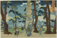 """View of Hashiba in the Eastern Capital (Toto Hashiba no zu), from the series """"Views of the Eastern Capital (Toto no zu)"""""""