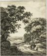 Hagar's Departure, from Six Landscape Subjects from the Old Testament