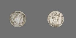 Siliqua (Coin) Portraying Emperor Valens