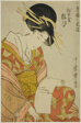 Yosooi of the Matsubaya, from the series Selections from Six Houses in Yoshiwara (Seiro rokkasen) (Matsubaya Yosooi)