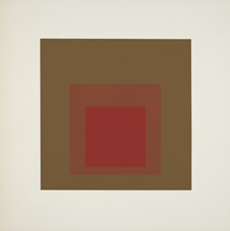Equivocal, plate four from Homage to the Square: Ten Works by Josef Albers