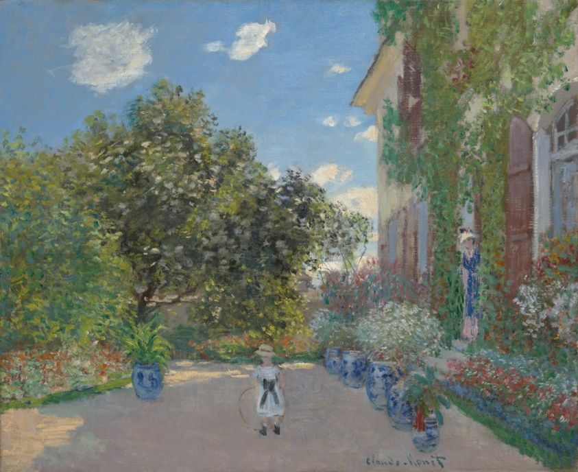 The Artist S House At Argenteuil The Art Institute Of Chicago