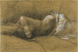 Study of a Sleeping Woman