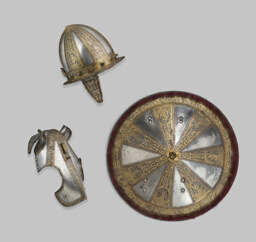 Infantry Garniture of a Target (Shield) and Pointed Morion
