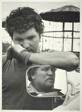 Bill Hammer Jr. and his Son Jim, Jo Daviess County, Illinois