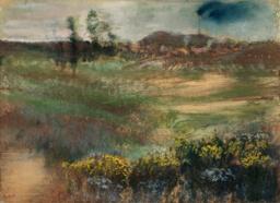 Landscape with Smokestacks