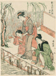"Fishing, from the series ""A Set of Ten Beauties in Flowerlike Styles (Enshoku hana fuzoku ju awase)"""