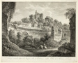 View of Hadrian's Villa at Tivoli