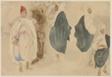 Four Sketches of Arab Men