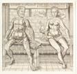 Interiorum corporis humani partium viva delineatio, from the second edition of the Compendiosa totius anatomie delineation
