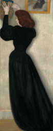 Slender Woman with Vase