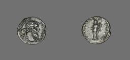 Denarius (Coin) Portraying Emperor Pertinax