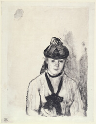 Portrait of Ellen Andrée
