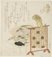 "Sekiya, E-awase, and Matsukaze, from the series ""The Tale of Genji (Genji monogatari)"""