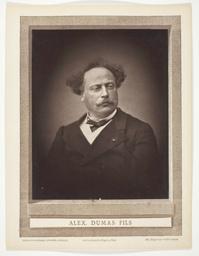 Alexandre Dumas, fils (French novelist and playwright, 1824-1895)