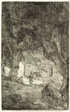 Grotto and Friars, from The Ruins of Rome