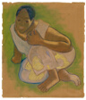 Crouching Tahitian Woman (related to the painting Nafea faa ipoipo [When Will You Marry?])