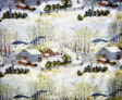 Early Springtime on the Farm (Furnishing Fabric)