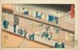 "Akasaka—No. 37, from the series ""Fifty-three Stations of the Tokaido (Tokaido gojusan tsugi),"" also known as the Reisho Tokaido"