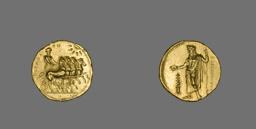 Stater (Coin) Depicting a Quadriga