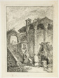 Ancient Temple, plate five from Les Soirées de Rome