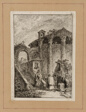 Plate Five from Evenings in Rome