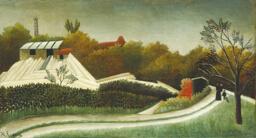 Sawmill, Outskirts of Paris
