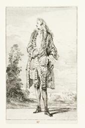 Gentleman, Hand in Vest