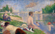 "Final Study for ""Bathers at Asnières"""