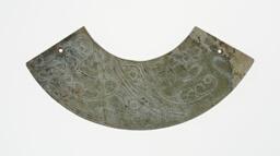 Arc-shaped pendant (huang)