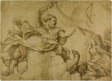 Study for Jupiter Hurling Thunderbolts