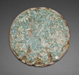 Mosaic Disk with a Mythological and Historical Scene