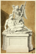 Monument with Dead Warrior and Angel