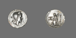 Drachm (Coin) Depicting the Nymph Amphitrite
