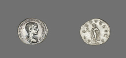 Denarius (Coin) Portraying Diadumenian