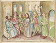 Christ before the High Priest Annas, from a Plenarium