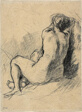 Study: Nude Woman Seen from the Back