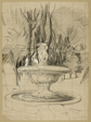 Fountain with Putti in the Garden of the Villa Borghese