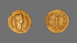 Aureus (Coin) Portraying Empress Sabina