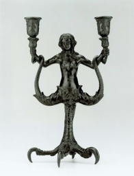 Candelabrum in the Shape of a Siren