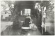 Barbershop through Screen Door, McClellanville, South Carolina